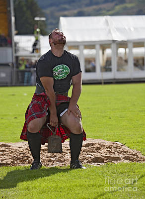 Gregor Edmunds  Highland Games Poster