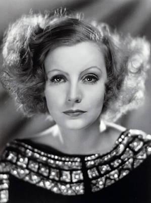Greta Garbo Poster by Daniel Hagerman
