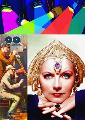Greta Garbo In Mata Hari Poster by Art Cinema Gallery