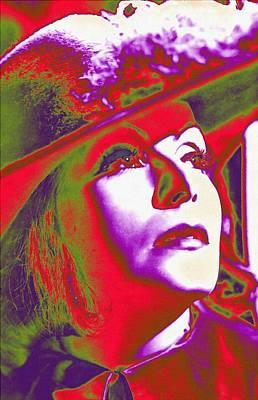Greta Garbo In Queen Christina Poster by Art Cinema Gallery