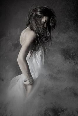 Grey Poster by Olga Mest