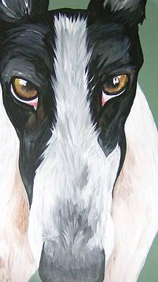 Greyhound Eyes Poster