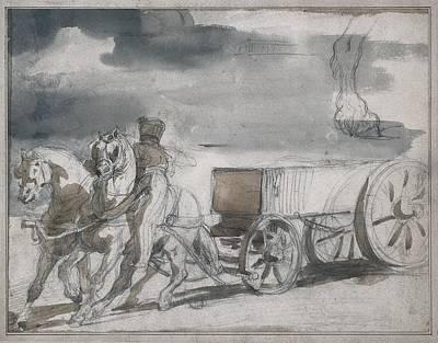 G�ricault, Th�odore 1791-1824. Munition Poster by Everett