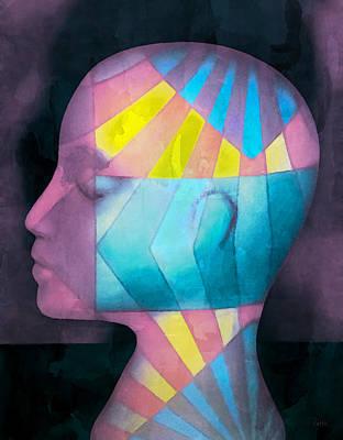 Grid Head Poster