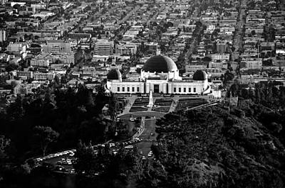 Griffith Observatory Poster by Art K