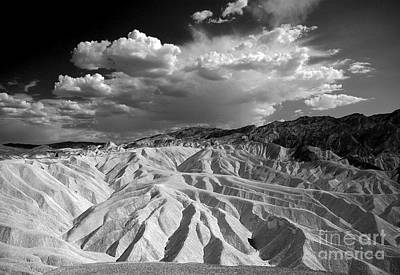 Poster featuring the photograph Grooving In Death Valley by Stephen Flint
