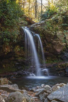 Grotto Falls I Poster