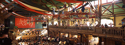 Group Of People In The Oktoberfest Poster by Panoramic Images