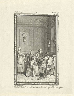 Group Of People Playing Games, Jacob Folkema Poster