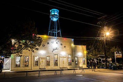 Gruene Hall Poster by Andy Crawford