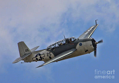 Grumman Tbm-3e Avenger Poster by Tommy Anderson