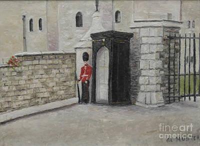 Guard At Windsor Castle Poster