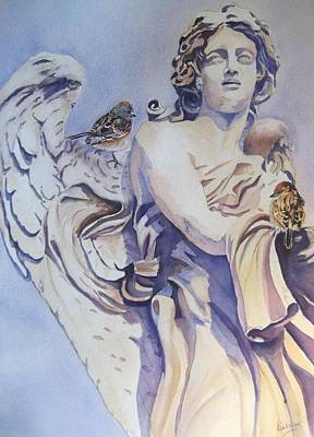 Guardian Angel Poster by Patricia Pushaw