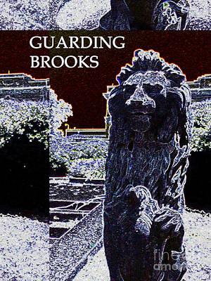 Guarding Brooks Poster by Karen Francis