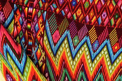 Guatemala, Chichicastenango, Colorful Poster
