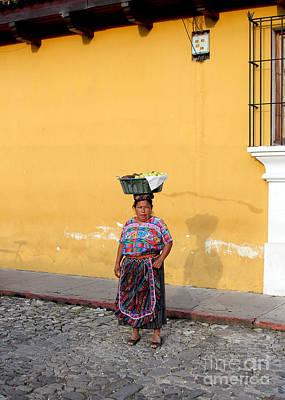 Guatemala Lady Poster by Carey Chen