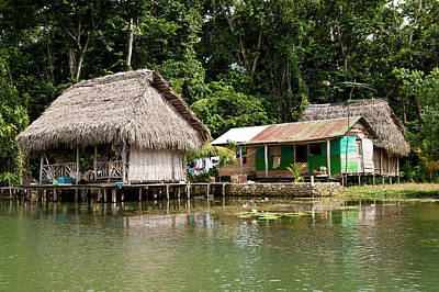 Guatemala, Lake Izabal Poster