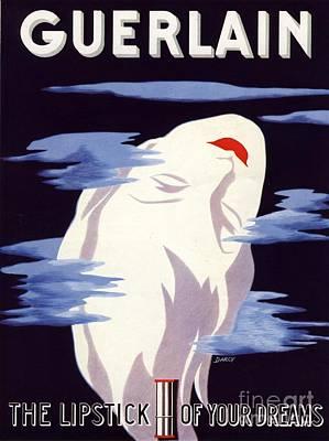 Guerlain 1938 1930s Uk Guerlain Poster by The Advertising Archives
