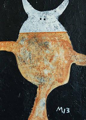 Guerrier No. 1  Poster by Mark M  Mellon
