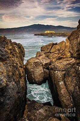Guincho Coastline Poster by Carlos Caetano
