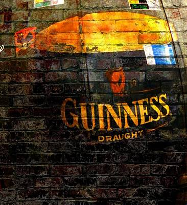 Guinness Cooler Poster by Chris Berry