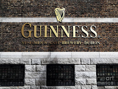 Guinness Poster by John Rizzuto