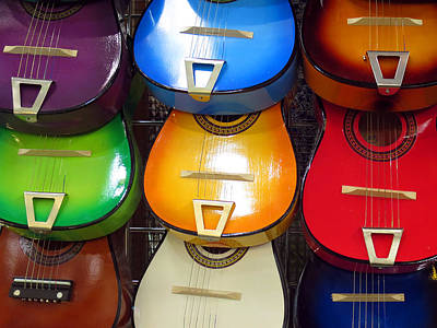 Guitaras San Antonio  Poster