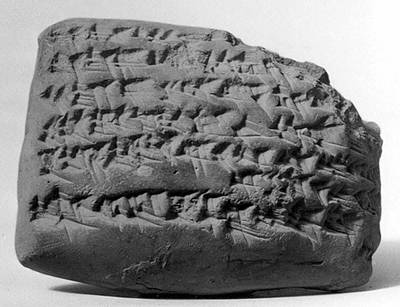 Gula Incantation, Medical Cuneiform Poster by Metropolitan Museum of Art