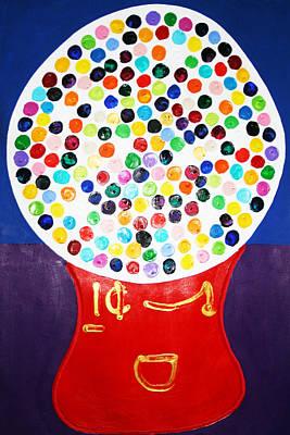 Gumball Machine Poster by Matthew Brzostoski