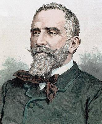 Gumersindo Azcarate Menendez (1840-1917 Poster