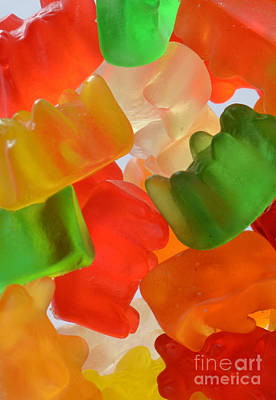 Gummy Bears Poster by Photo Researchers, Inc.