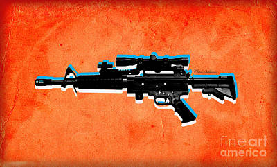 Gun 2 Poster by Mark Ashkenazi