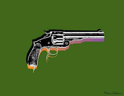 Gun 3 Poster by Mark Ashkenazi