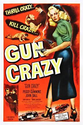 Gun Crazy, Peggy Cummins, John Dall Poster by Everett