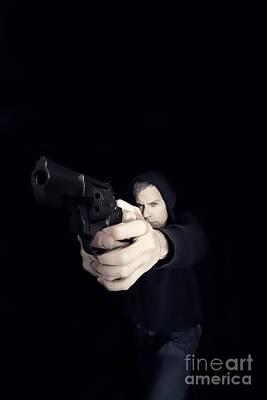 Gun Man Poster