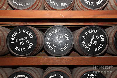 Gun Powder Room At San Francisco Fort Point 5d21511 Poster