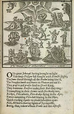 Gunpowder Plot Poster by British Library