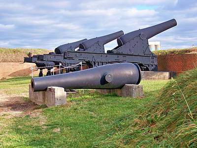Guns At Fort Mc Henry  Poster