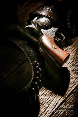 Gunslinger Tool Poster by Olivier Le Queinec