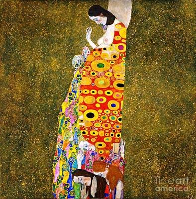 Gustav Klimt - Hope II Poster