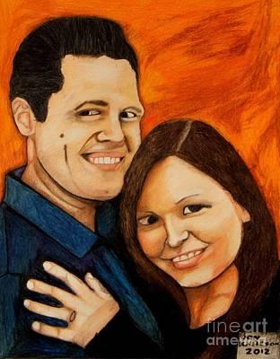 Guy And Bridget Poster