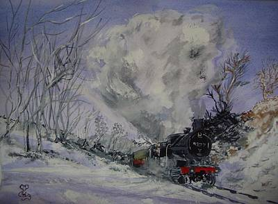 Gwr 4277 Poster by Carole Robins