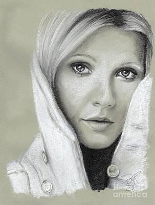 Gwyneth Paltrow Poster by Rosalinda Markle