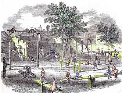 Gymnasia And Play Ground Of The Children Of The Infant Poster