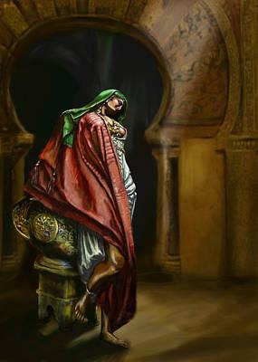 Syrian Princess Poster by Matt Kedzierski