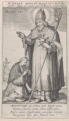 H Augustine, Jacob Matham, Rudolf II Van Habsburg German Poster by Jacob Matham