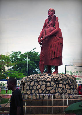 Edo Chief Statue Poster