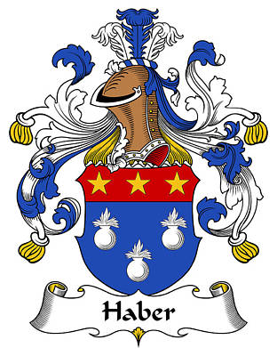 Haber Coat Of Arms German Poster