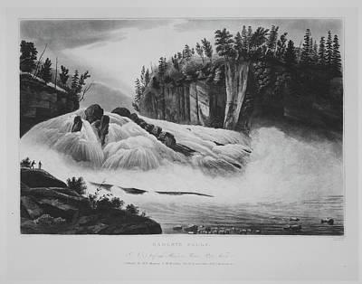 Hadleys Falls No. 5 Of The Hudson River Poster
