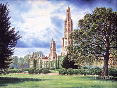 Hadlow Tower Poster by Steve Crisp
